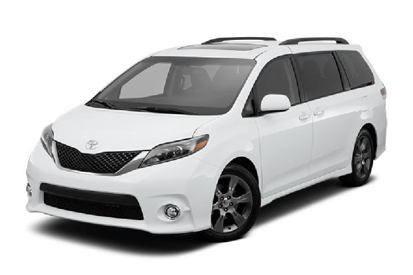 Toyota Siena Le or similar